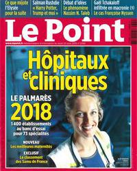 Couvertue magazine Le Point