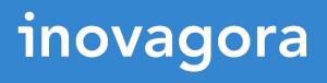 Logo bleu et blanc d'Inovagora