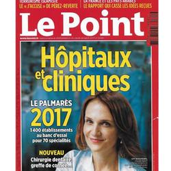 Couverture du magazine Le Point