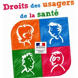 Affiche droits des usagers de la santé